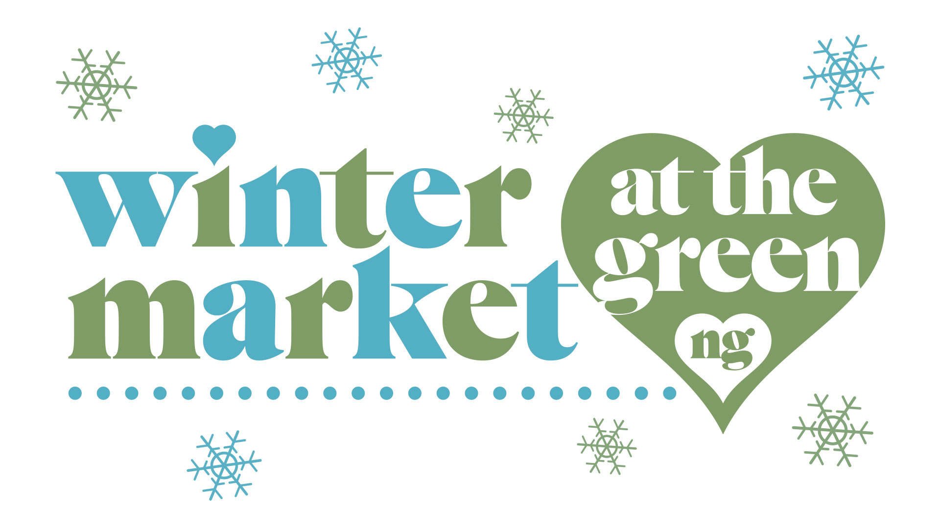 Winter Market at the Green