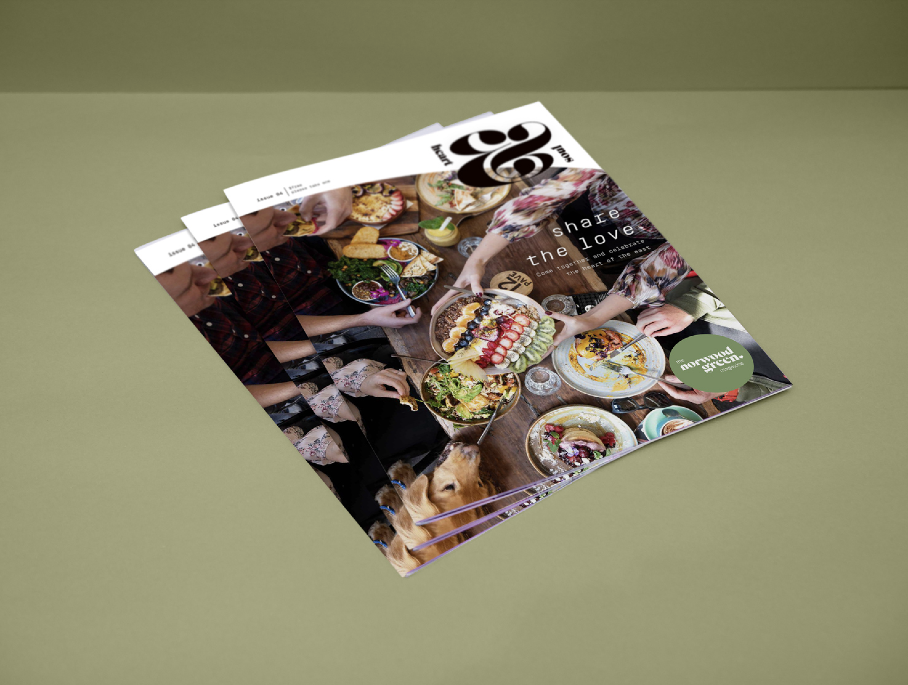New spring issue of heart&Soul is out now