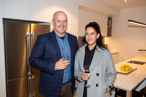 Rohan Graetz and Leila Manouras (Norwood Green)